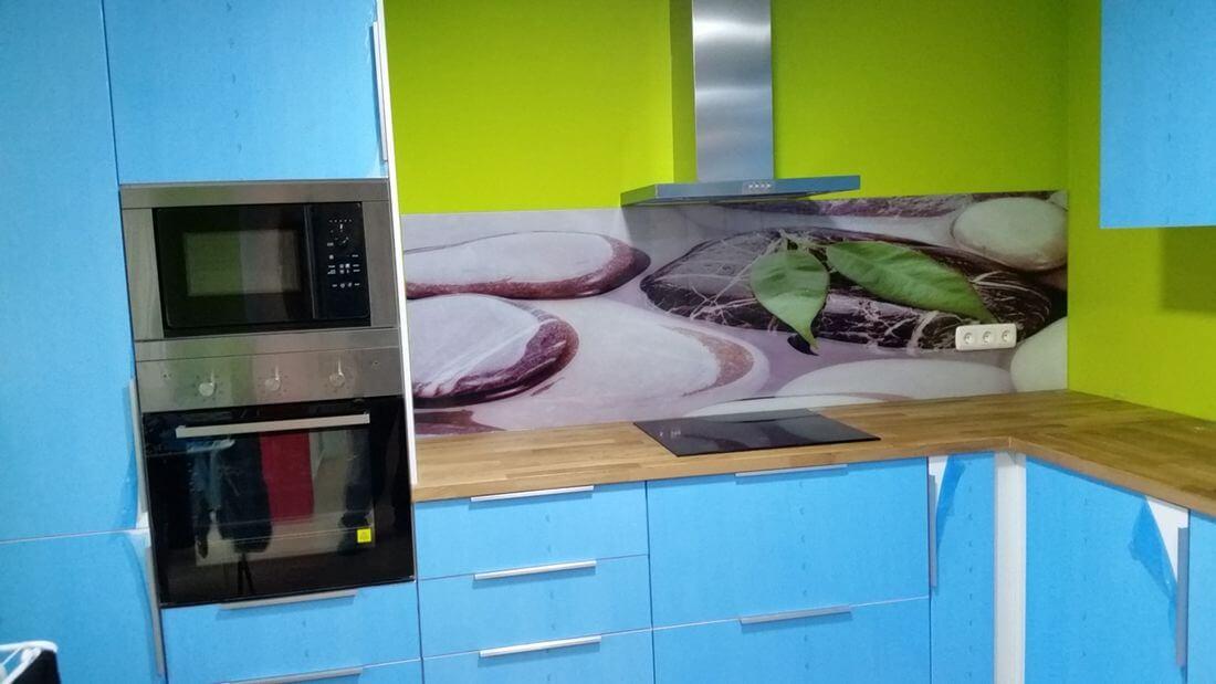 cristal decorativo rotulación cocina