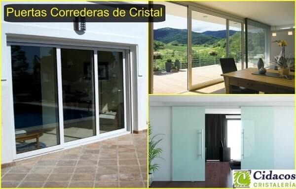 Tipos de cerramientos de cristal que existen actualizado - Cortinas para puertas correderas ...