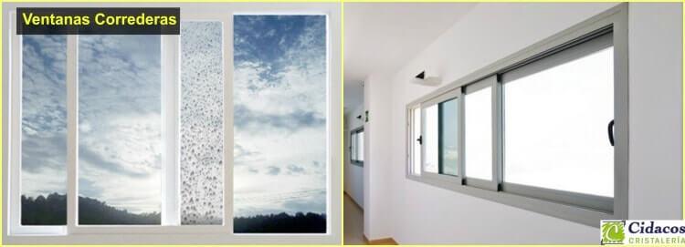 ventanas correderas de cristal