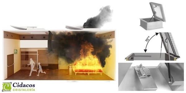 claraboyas contra incendios