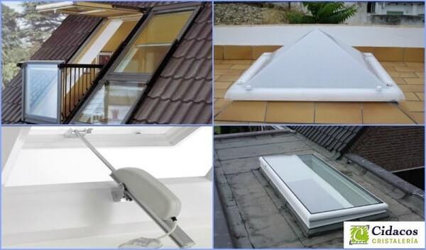 Claraboyas y c pulas para instalar en tejados actualizado - Materiales para tejados ...