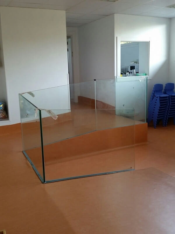 barandilla vidrio escalera