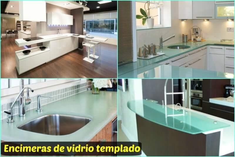 soluciones de vidrio templado para la encimera y pared frontal de tu cocina