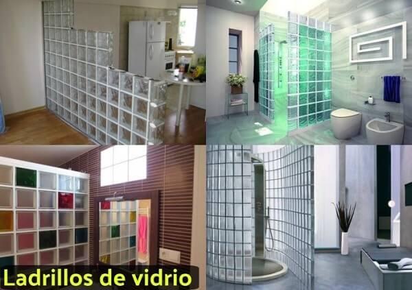 Ladrillos de cristal para baos latest cmo decorar baos - Banos con paredes de cristal ...
