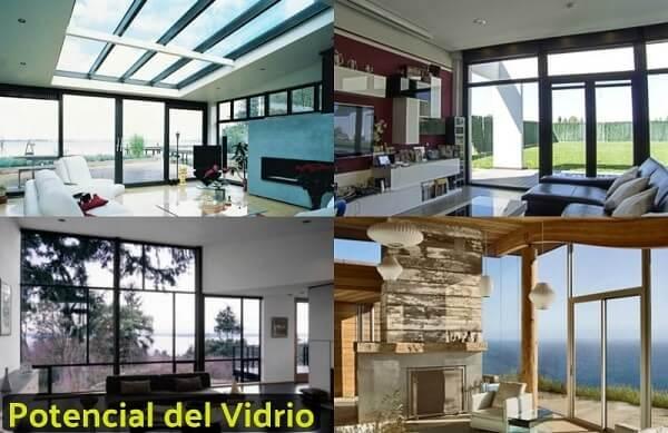 ventajas del vidrio