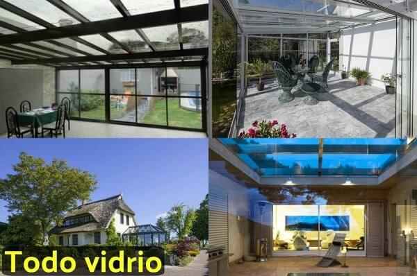vidrio en casa