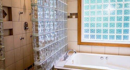 espacio ducha integrado