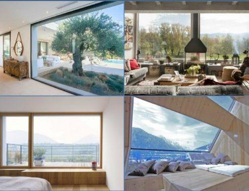 Instalar ventanas grandes en casa ¿Es una buena idea?