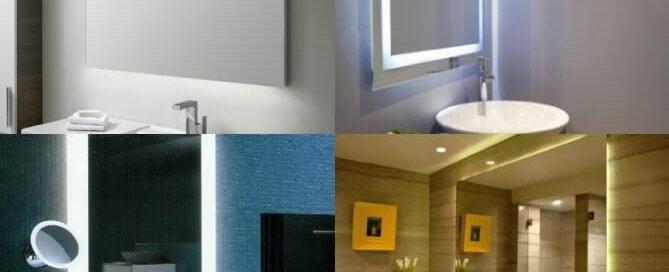 espejos con iluminación